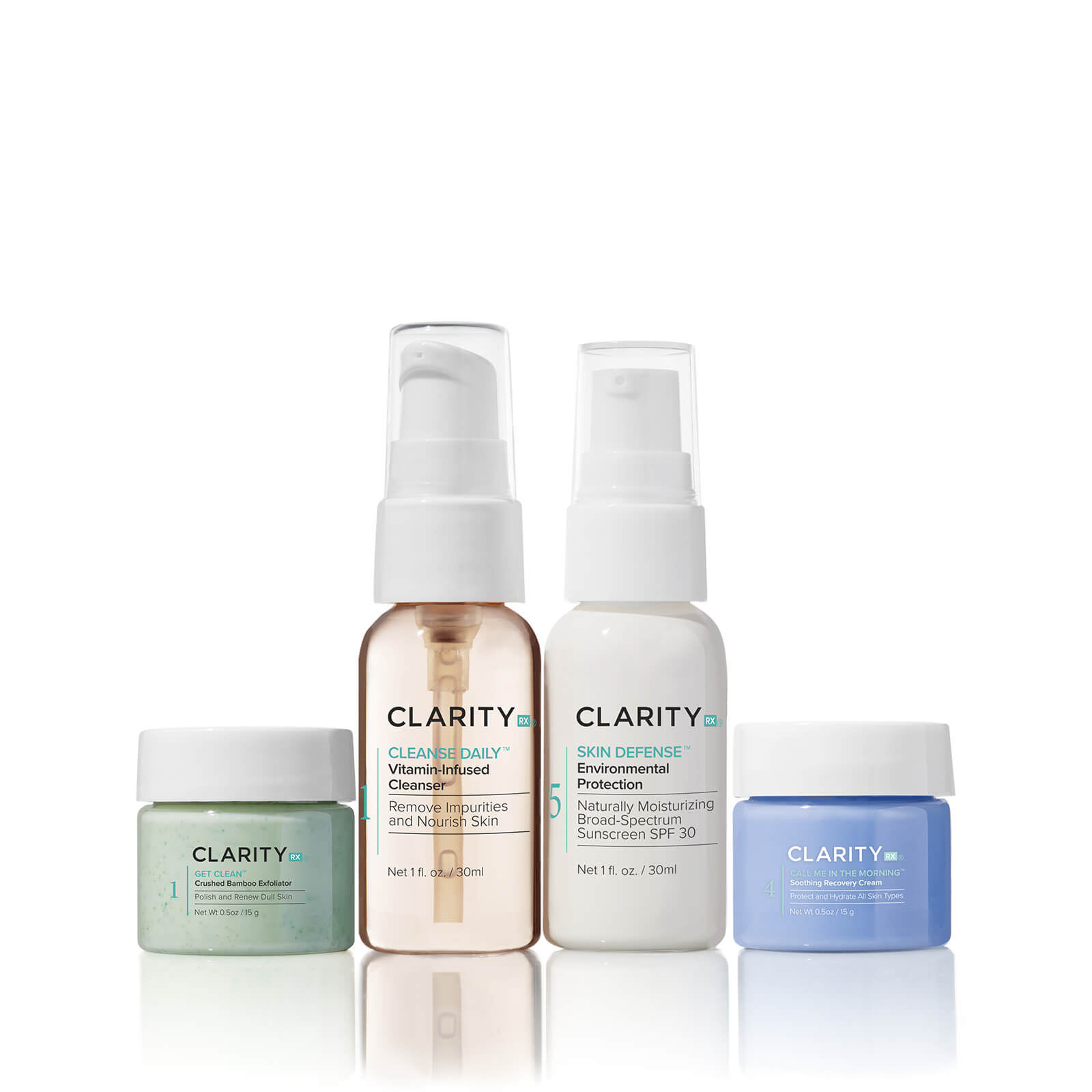 Plant Based Skin Care products by ClarityRx