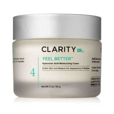 Feel Better Hyaluronic Acid Moisturizing Cream jar