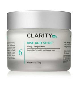 Rise and Shine Lifting Collagen Mask jar