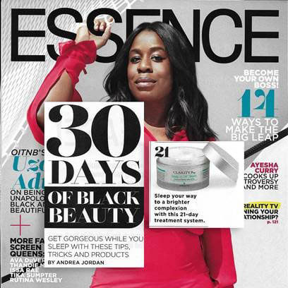 ClarityRx Essence Magazine Cover Feature