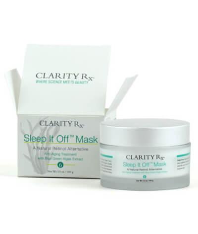 Sleep It Off Mask open box and jar