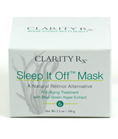 Sleep It Off Mask box front panel